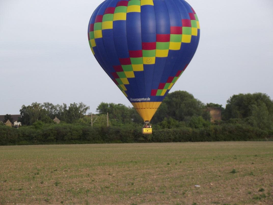 unser Ballon bei machern