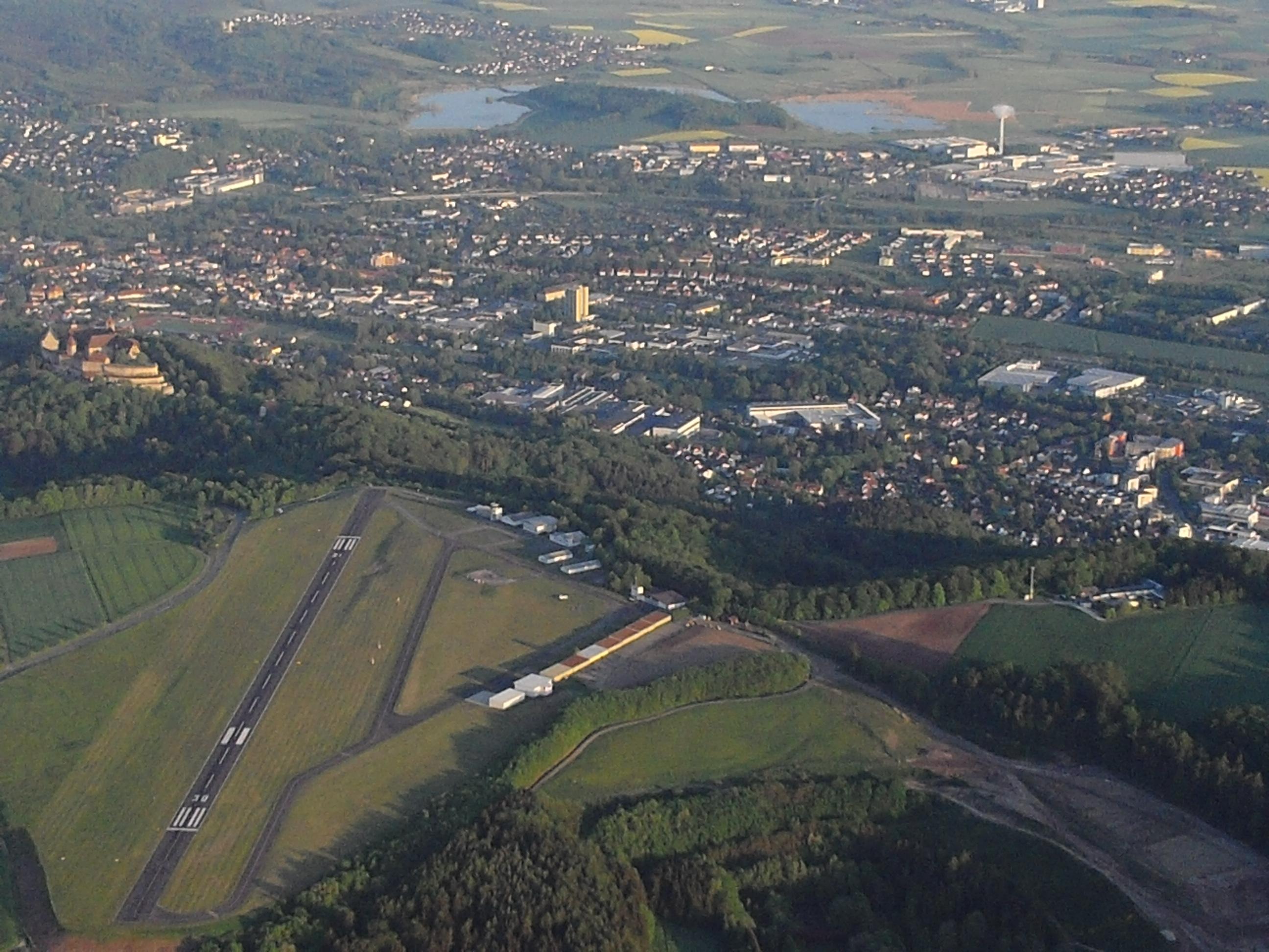 Blick auf Coburg